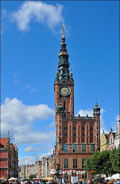 Gdańsk województwo pomorskie - Ratusz Głównego Miasta ...