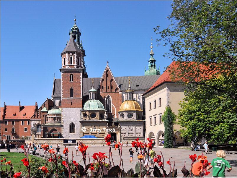 Kraków województwo małopolskie - Wawel - zamek królewski ...